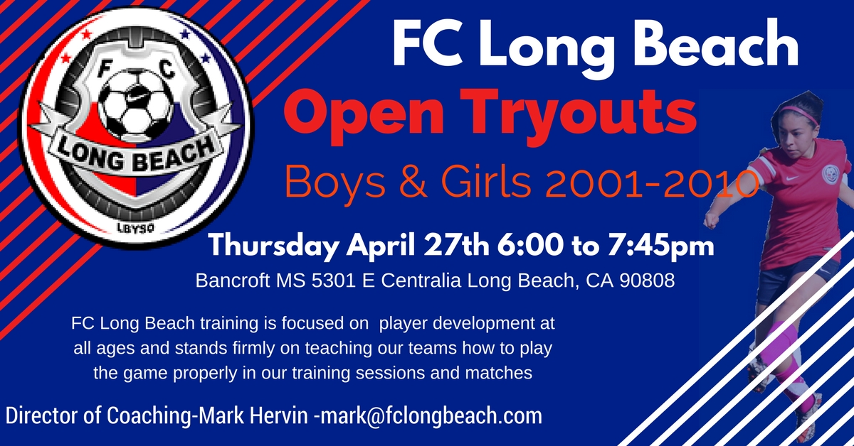 FC Long Beach Open Tryouts